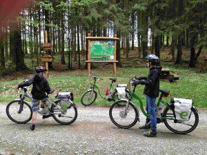 E-Bike on tour